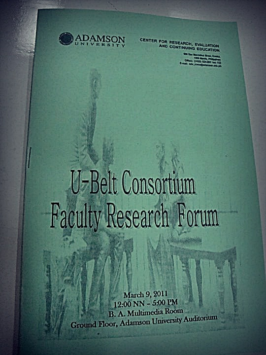 U-Belt Consortium Faculty Research Forum – Laineology